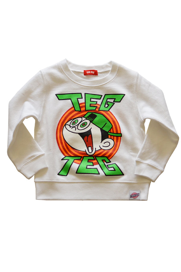 【30%OFF】TEG TEG HYPER BOY Crew Neck White