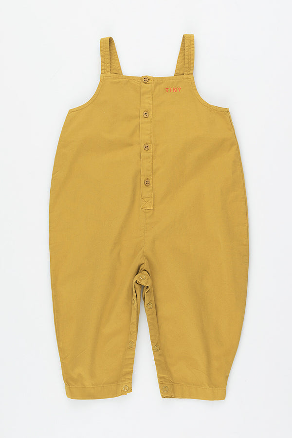 【ご予約商品】TINYCOTTONS SOLID ONE-PIECE mustard