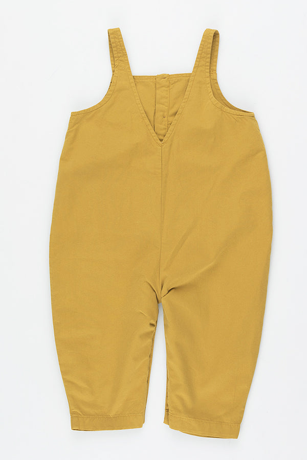 TINYCOTTONS SOLID ONE-PIECE mustard