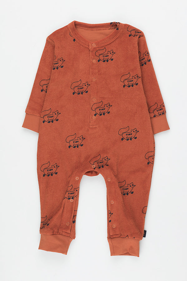TINYCOTTONS FOXES ONE-PIECE