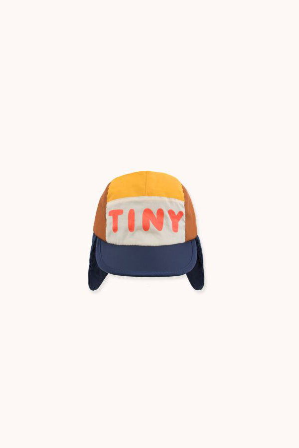 TINYCOTTONS COLOR BLOCK CHAPKA cappuccino/navy