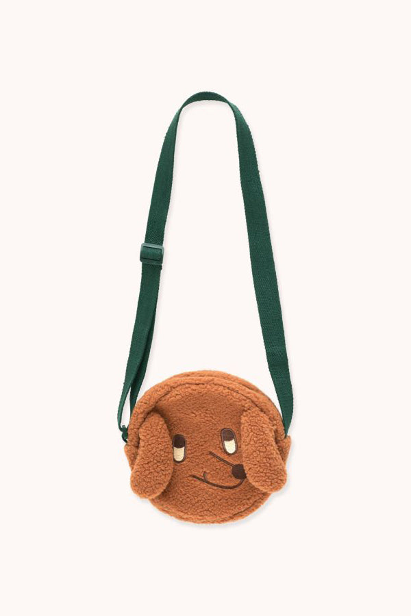 "TINYCOTTONS ""TINY DOG"" SHERPA BAG"