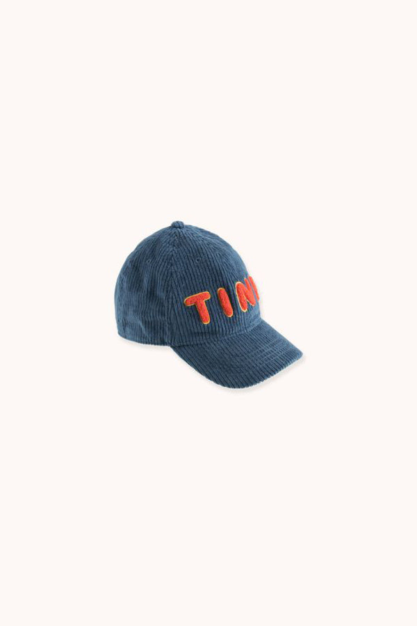 "【ご予約商品】TINYCOTTONS ""TINY"" CAP sea blue"