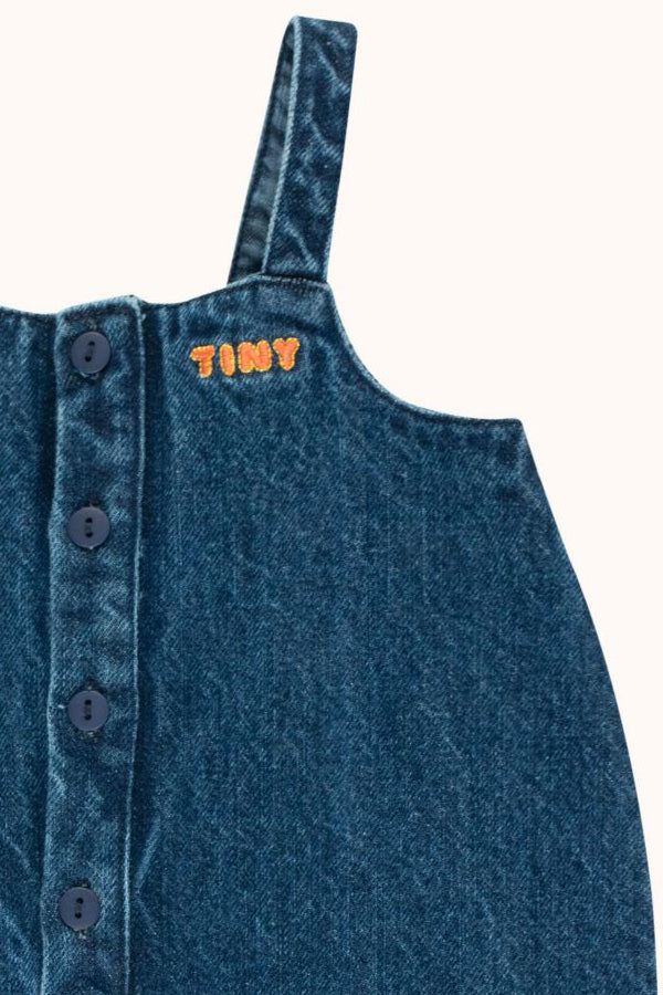 TINYCOTTONS DENIM ONE PIECE