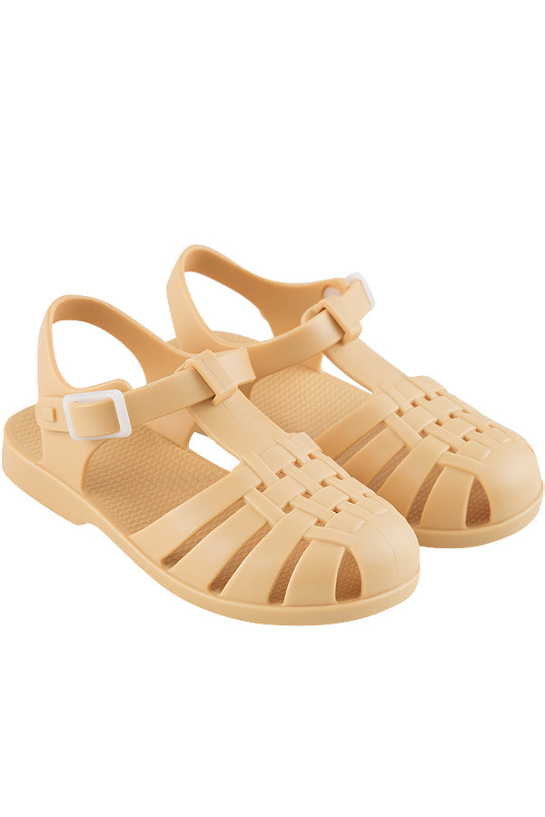 TINYCOTTONS x igor KIDS JELLY SANDALS sand