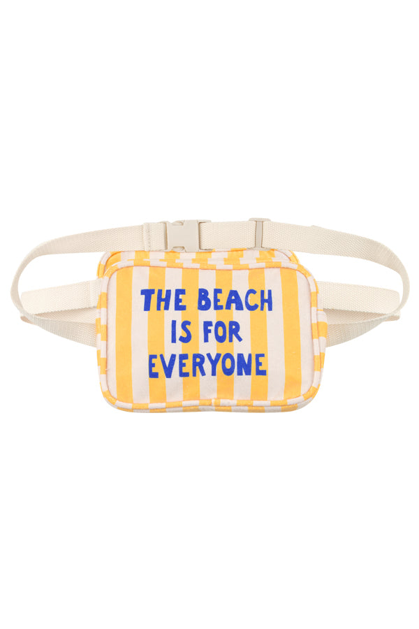 TINYCOTTONS THE BEACH IS FOR EVERYONE FANNY BAG