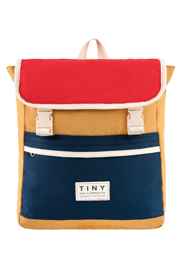 TINYCOTTONS TINY COLOR BLOCK BACKPACK