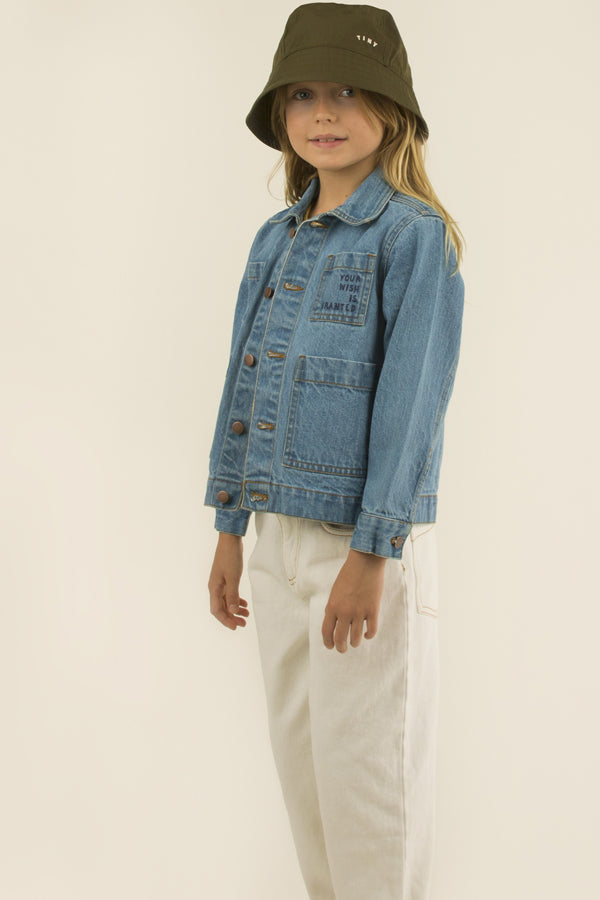 TINYCOTTONS WISHING TABLE DENIM JACKET