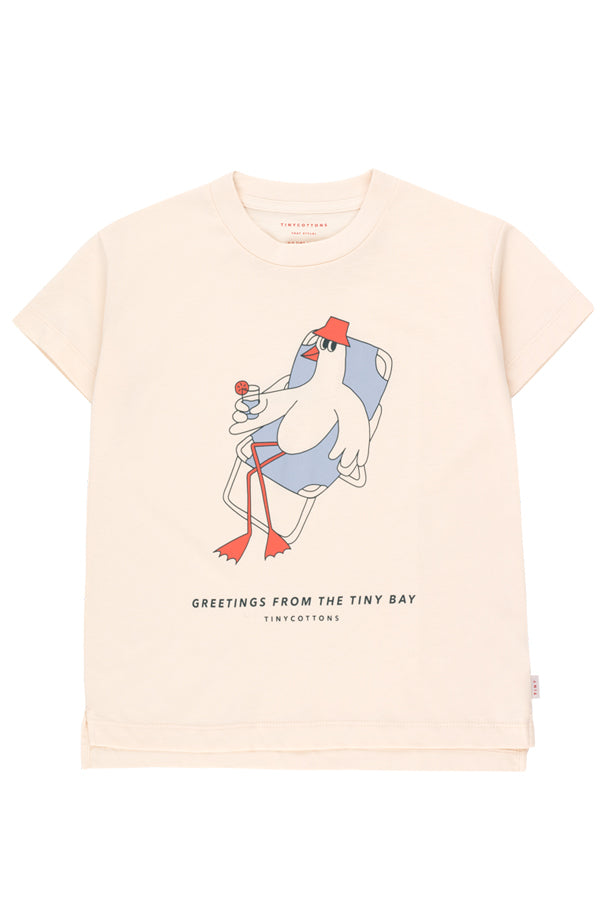 TINYCOTTONS BIRD GRAPHIC TEE