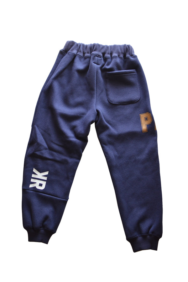 TAKE ALL PARKA BROKEN COLLEGE PANTS navy