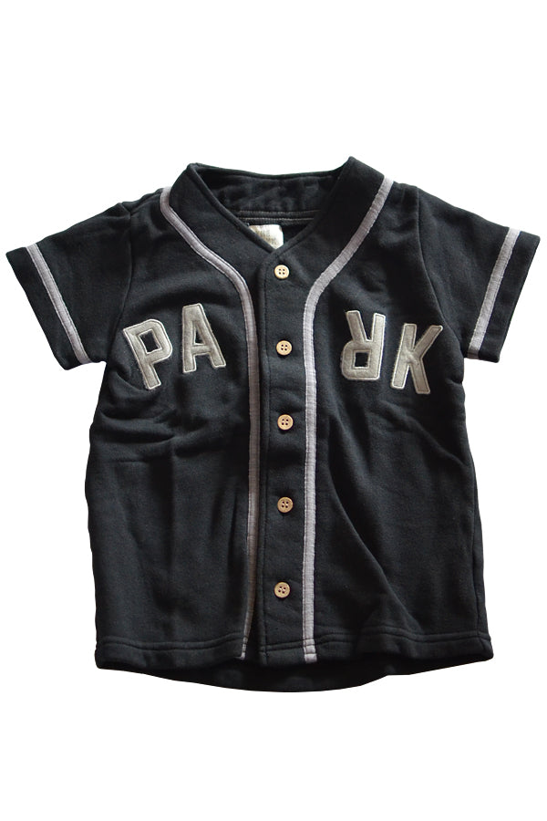 THE PARK SHOP BASEBALL BOY SHIRTS BLACK