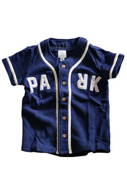 THE PARK SHOP BASEBALL BOY SHIRTS NAVY