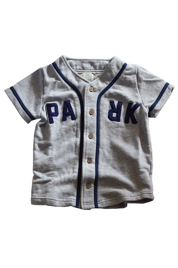 THE PARK SHOP BASEBALL BOY SHIRTS GREY