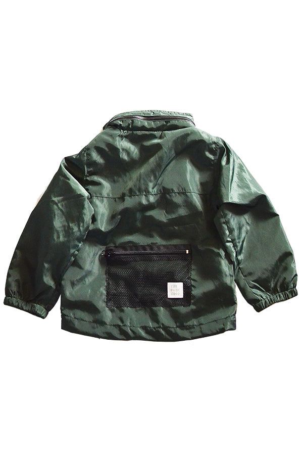 THE PARK SHOP PARKPOCKET MT PARKA GREEN