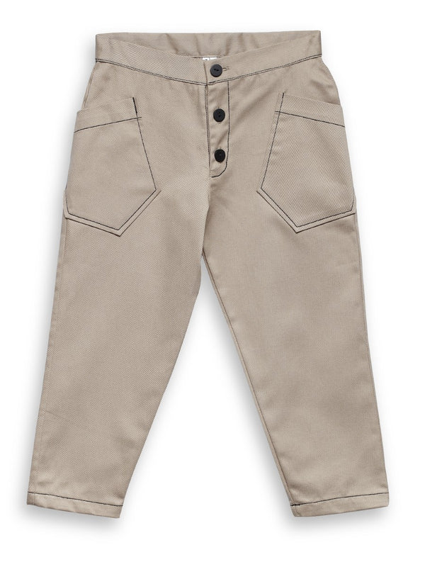 【30%OFF】Rocket Pear sand trousers