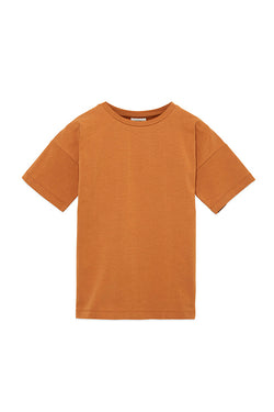 SIMPLE TEE BROWN