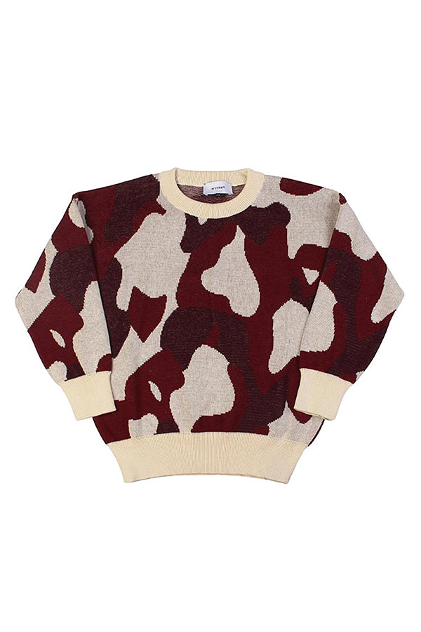 【20%OFF】Animal Cammo Jumper Apache Red