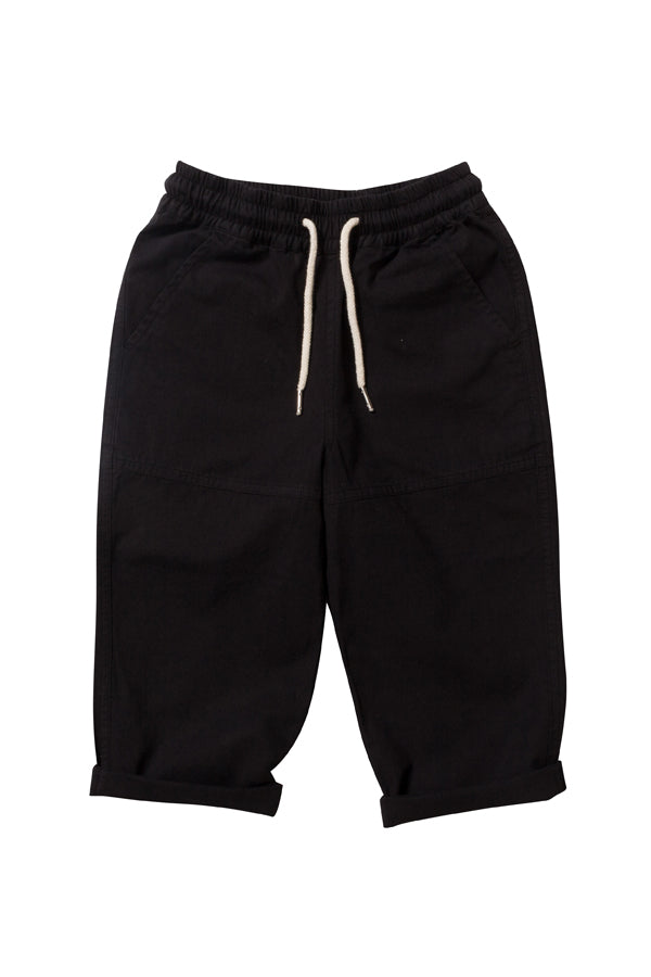 DRAWCORD PANT BLACK