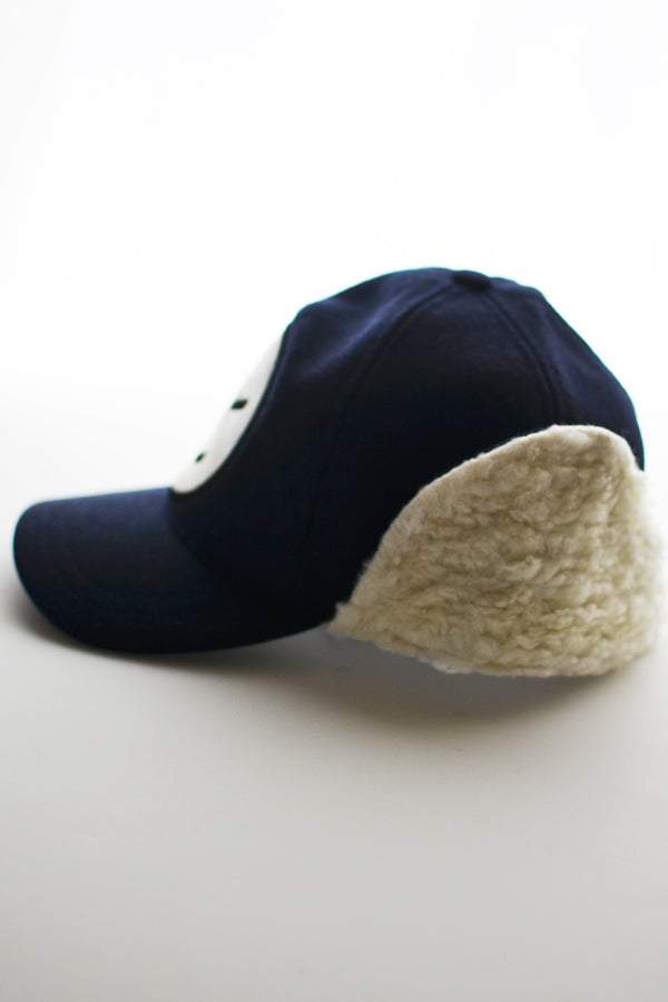 【30%OFF】WYNKEN DEESTALKER Hat Navy Melton