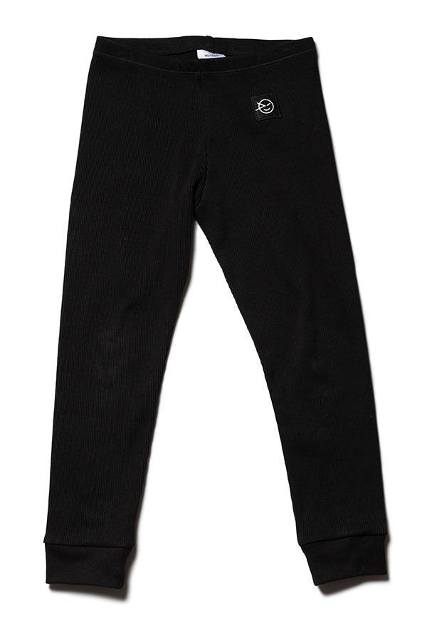 WYNKEN Daily Legging Black Medium Rib