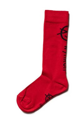 WYNKEN Knee Sock red
