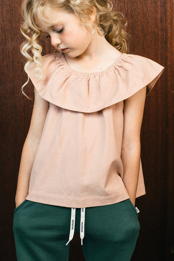 【30%OFF】Wynken Flamenco Top Plaster Pink