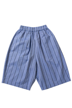 【20%OFF】CULOTTE CHAMBRAY STRIPE