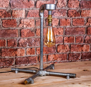 Industrial Steel table lamp