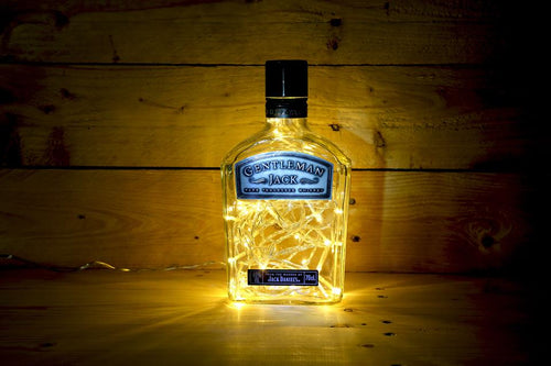 Gentleman Jack Illuminated bottle lamp