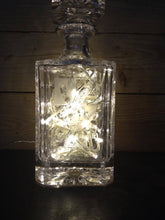 Load image into Gallery viewer, Illuminated Crystal style glass decanter