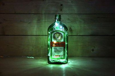 Illuminated Jagermeister bottle light