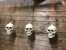 Load image into Gallery viewer, 3 Hanging skull light