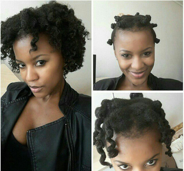 Get the perfect twist-out/curly look in 4 easy steps