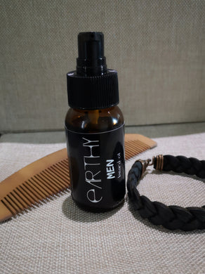EARTHY MEN: Beard oil
