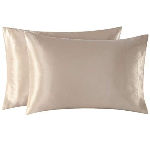 Satin pillowcase for hair & skin (Champagne)