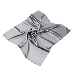 Satin Scarf Grey XLarge