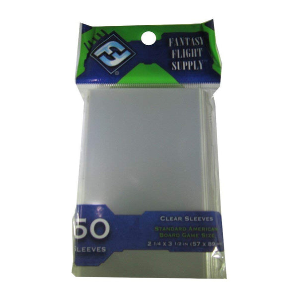 Fantasy Flight Games 500 Standard American Board Game Size Sleeves - 10 Packs + Box - Usa - Ffs03 57 X 89 - SportsnToys
