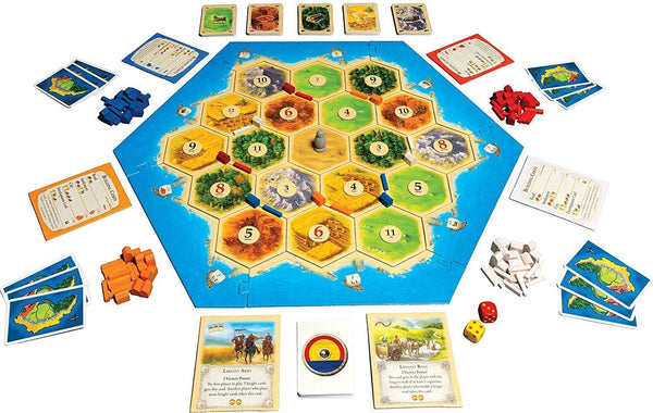 Mayfair Games Catan 5th Edition with 5-6 Player Extension - SportsnToys
