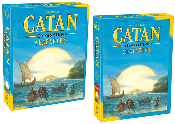 Catan: Seafarers Game Expansion 5th Edition with Catan: Seafarers 5&6 Player Extension 5th Edition - SportsnToys