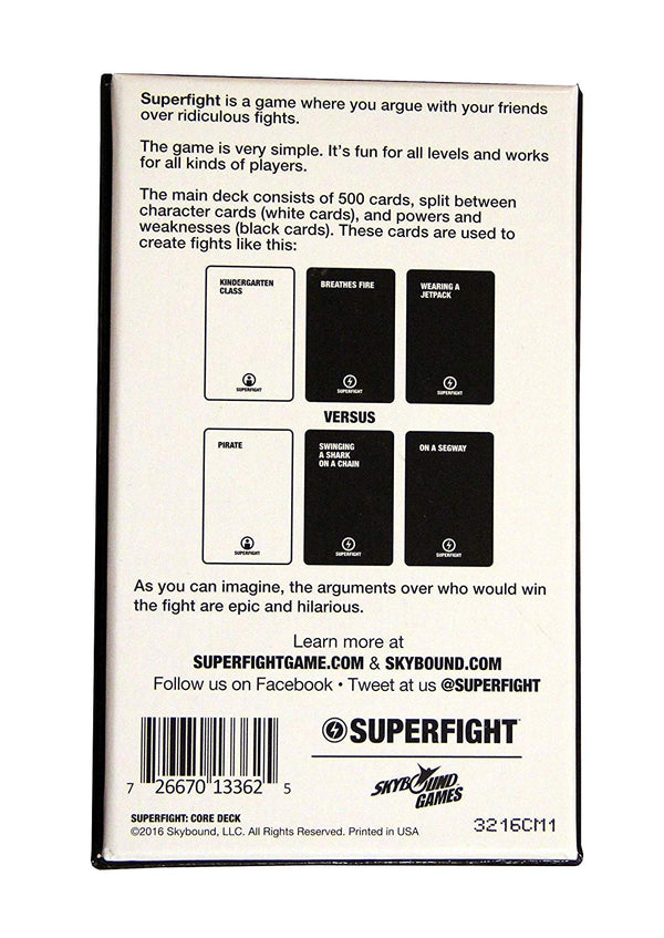Superfight Skybound's Card Game: The 500-Card Core Deck - SportsnToys