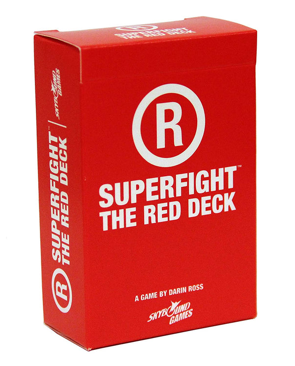 Superfight Skybound's Card Game: The Red Expansion Deck - SportsnToys