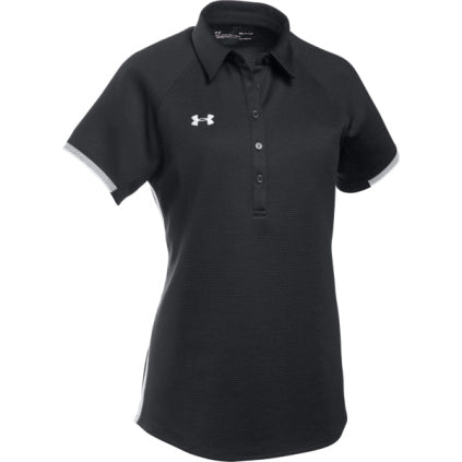 Under Armour Women's Rival Polo - Black - SportsnToys