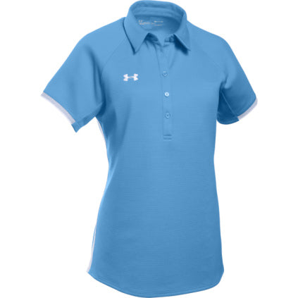 Under Armour Women's Rival Polo - Carolina Blue - SportsnToys