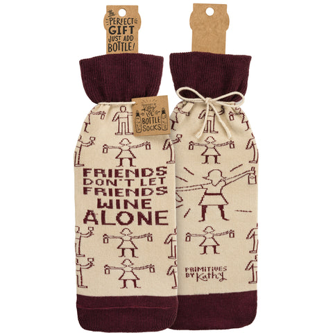 Wine Bottle Cover Wine Alone