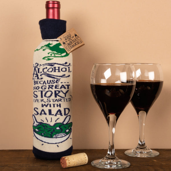 Wine Bottle Cover Salad