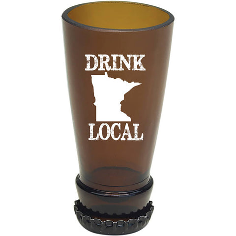 MN Drink Local Beer Bottle Shot Glass