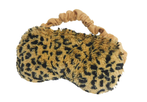 Leopard Warmies Eye Mask