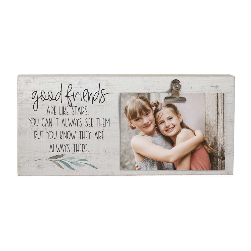 Good Friends Frame w/ Photo Clip
