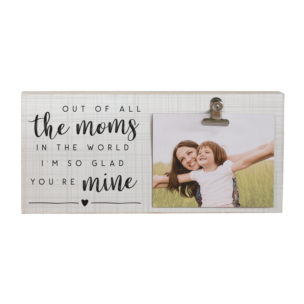 All The Moms Frame w/ Photo Clip