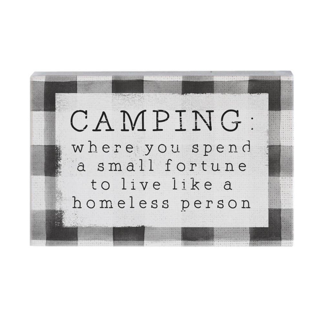 Camping Fortune Sign